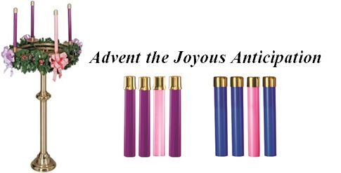 Zieglers Catholic Store Advent Oil Candles