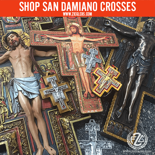 Shop San Damiano Crosses and Crucifixes