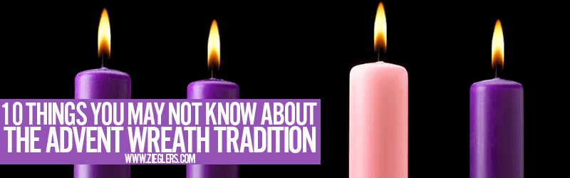 10 Things You May Not Know About The Advent Wreath Tradition