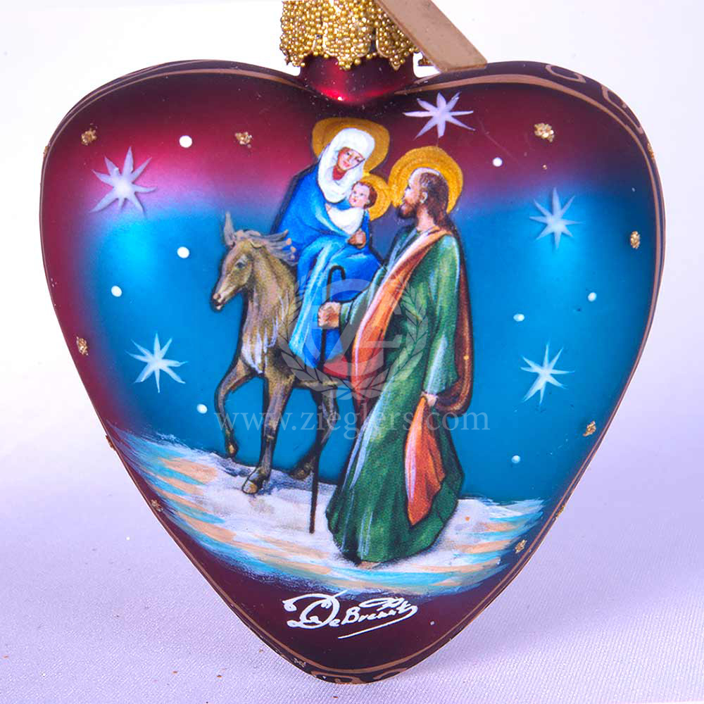 F.C Zieglers Hand Painted Ornament