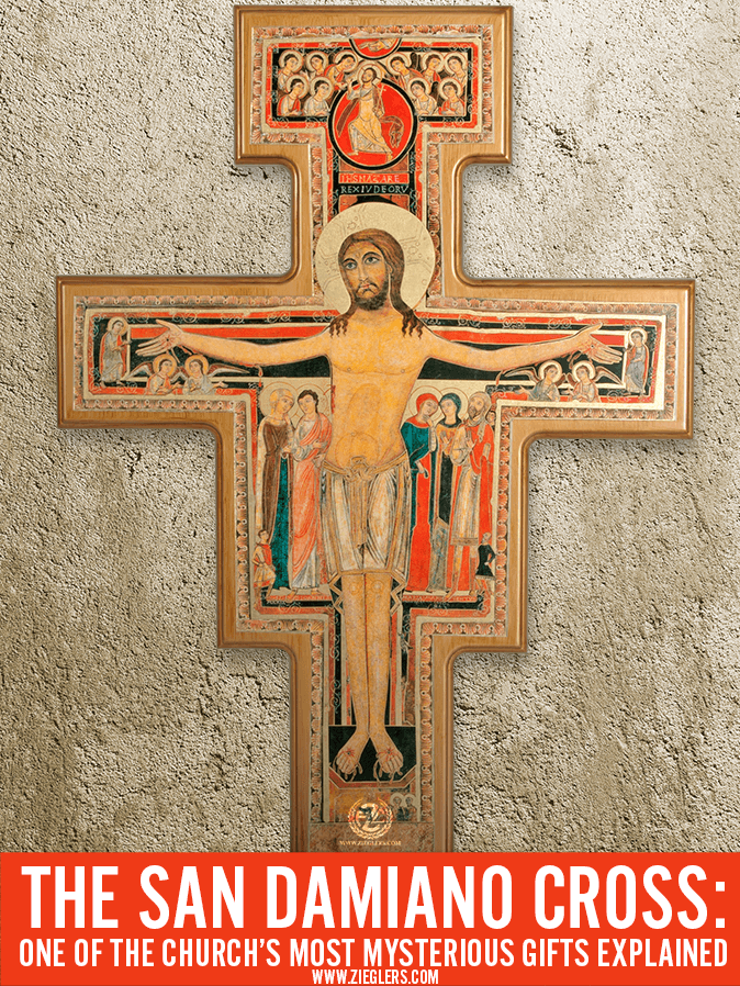 The San Damiano Cross One Of The Churchs Most Mysterious Gifts